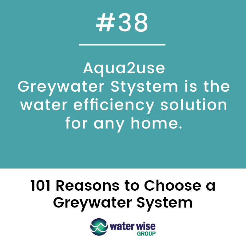 Aqua2use Greywater System is the water efficiency solution for any home.